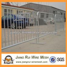Используемый барьер для контроля толпы с покрытием из пвх