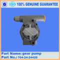 PC120-6 GEAR PUMP 704-24-24420
