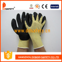 Cut and Heat Resistance Gloves with Yellow Aramid Fiber Liner Dcr512