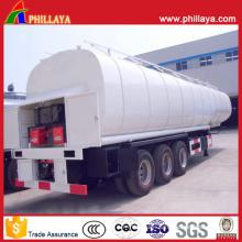 Asphalt Transporter Steel Tanker Semi Truck Trailer Bitumen Heating Tank