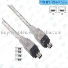 4-контактный 4-контактный IEEE 1394 Link Fire Wire Кабель DV