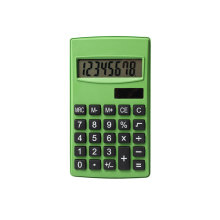 8 Digits Dual Power Handheld Pocket Calculator