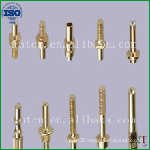 customized precision metal fabrication brass pins