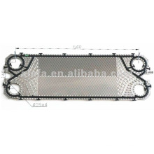 M6B related 316L plate and gasket for heat exchanger plates