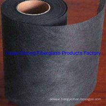 Black Color Fiberglass Tissue for Sound Insulation Panel