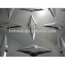 Aluminium chequered sheet/plate for kitchen flooring