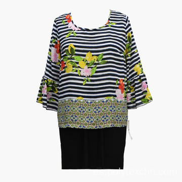 Blusa estampada Tropical Leisure de 2020 New Leisure
