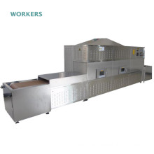 Industrial microwave tunnel oven cricket dryer machine crickets drying dehydrator equipment