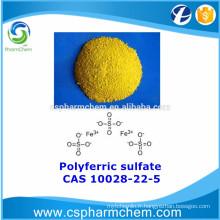 Sulfate polyférrique, CAS 10028-22-5, PFS pour le traitement de l'eau