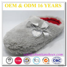 Top quality fashion home promotional indoor slippers lady