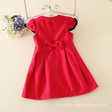 Guangzhou fábrica preço barato roupas para crianças meninas na produção a granel de roupas quentes vestido de crianças roupas com chapéus matchdress