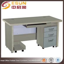 2016 fábrica de modelos grossistas de mesa de computador de madeira com bom preço