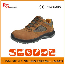 Sapatos de segurança Nubuck Leather Steel Toe Deltaplus