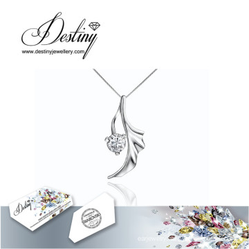 Destiny Jewellery Crystal From Swarovski Necklace Angel Pendant