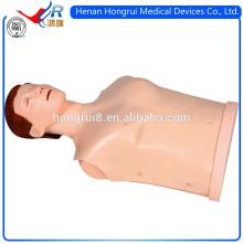 Manequim de treino de CPR de meio corpo de estilo novo ISO