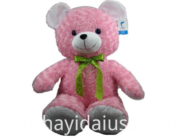 Cuddly Teddy Bear Plush Soft Toy With Silk Bow Tie