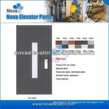 Elevador Porta Semi-automática para Pequenos Elevadores e Elevadores