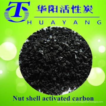 Carvão ativado granular em porca para máscara de gás de filtro de carvão ativado