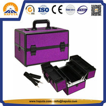 Professional Cosmetic Makeup Case with 4 Trays (HB-2203)