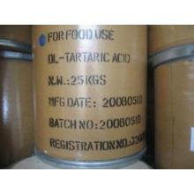 Ácido tartárico monohidrato & aditivo alimentar anidro