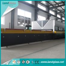 Máquina de fazer vidro plano temperado Landglass para vidros de janela