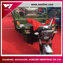 Triciclo eléctrico del trike del cargo de Wheeler 850 * 1200m m para los adultos