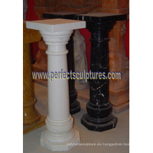 Pilar corintio con piedras de granito arenisca de granito (QCM141)