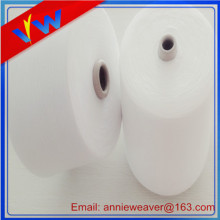 100% Polyester Spun Yarn For Knitting Weaving 32s/1