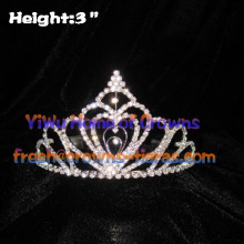 High Quality Heart Pageant Tiaras