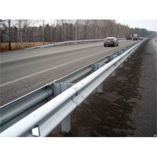 W Beam Highway Guardrails