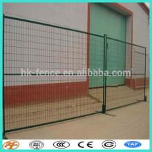 Clôture temporaire galvanisée à chaud et durable