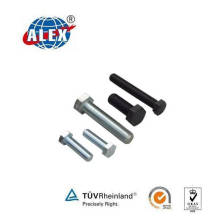 Hex Track Bolt for Railway Fastening