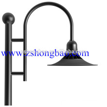 City square LED lights project 60W LED Garden Lighting LED Outdoor lamp with meanwell Driver