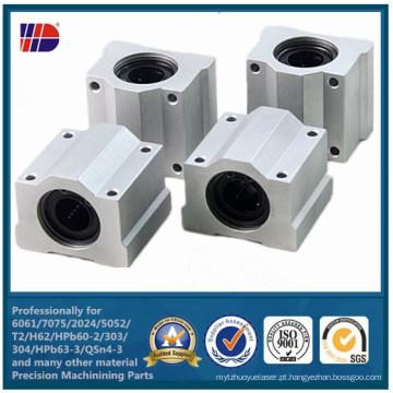 Fábrica de usinagem de alumínio usinagem CNC processo diretamente (wkc-473)