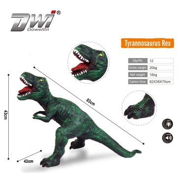 Dowellin Big Size Dinosaur Toy Action Figures Soft Animal Toy for Children