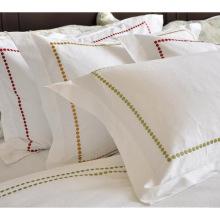 100% хлопок или T / C 50/50 / отель вышивки / домашний комплект постельного белья (WS-2016043)