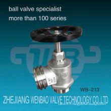 Wb-213 Hv Qrt Ss304 Dn65 Vannes à induction en acier inoxydable Chine Wenzhou Fabricant