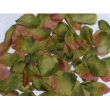 Natural toque de seda pétalos de flores artificiales de pétalos de rosa