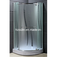 Habitación de ducha de aluminio Hingle (AS-930)
