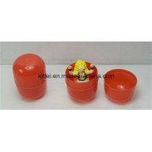 Venta al por mayor de dulces de huevo mini personalizado plástico pequeños juguetes de bebé de cápsula