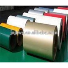L'usine Jinzhao commercialise des bobines de zinc en aluminium colorées