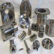 Mecanizado CNC de componentes de piezas mecánicas de acero inoxidable