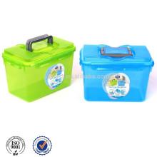 Plastic Storage Box With Handle