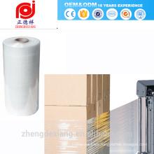 Pallet stretch warp film for machine use