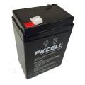 6V 4Ah VRLA rechargeable lead acid battery 6 volt lead acid battery 6V Battery free maintenance