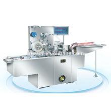 Verpackungsmaschine durch transparente Folie