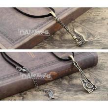Legierungs-Strickjacke-Ketten-Frauen-hängende Halsketten-Weinlese-Verzerrung frei