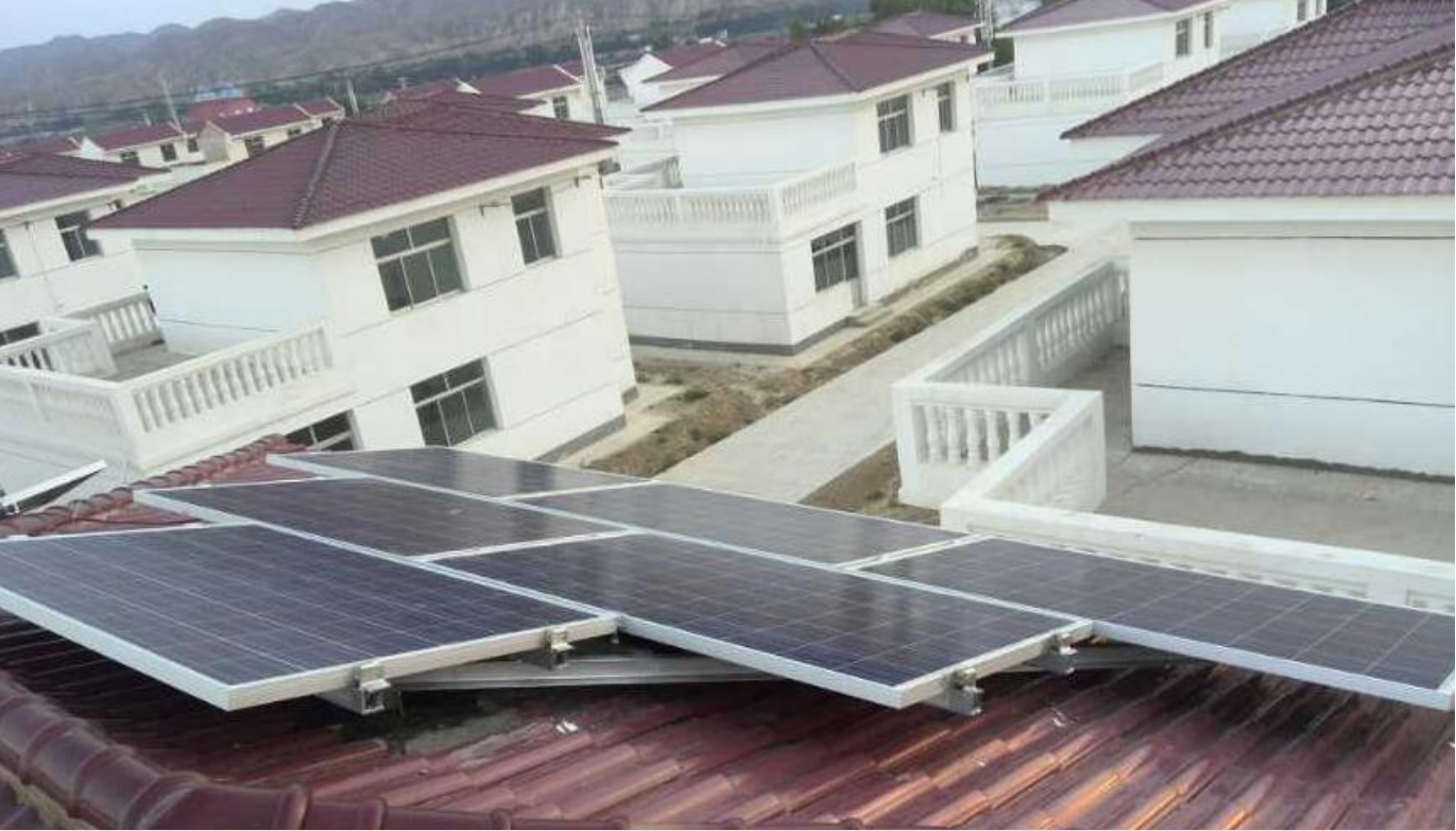 luminum Solar Mounting Structure for Tile Roof Solar System project