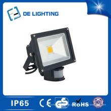 Certificado qualidade 20W luz de inundação com Sensor