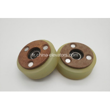 Step Roller pour Mitsubishi Escalators 76 * 35 * 6202
